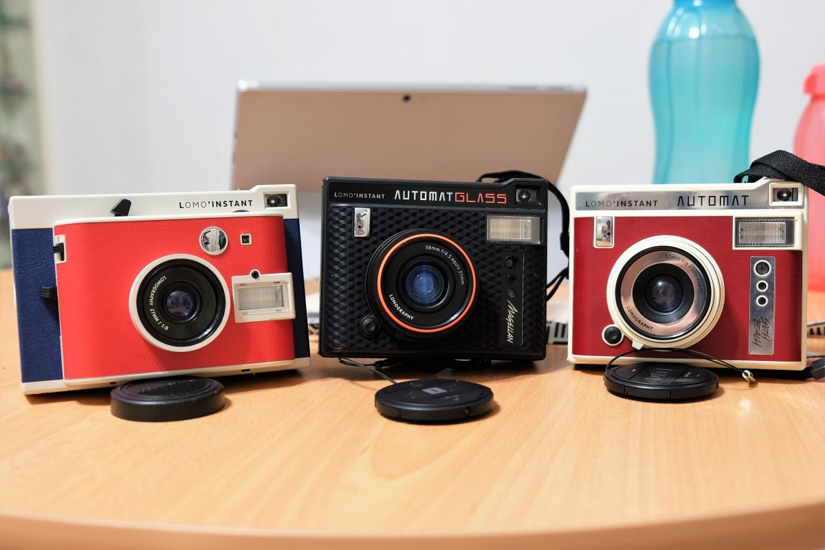 Reviewing the Lomo'Instant Cameras (Instax Mini)!