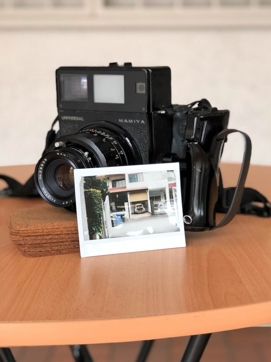 Test Shots: Mamiya Universal Press with Various Mamiya-Sekor Lens (Instax Wide Format)