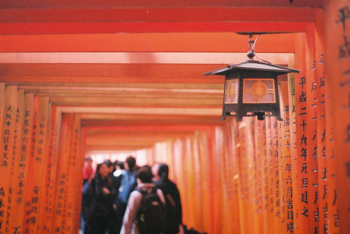 A Lesson on Carrying Film Overseas//Capturing Sights in Japan