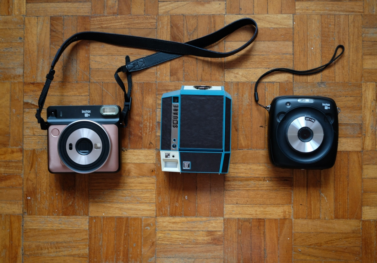 Comparing Instax Square Cameras!